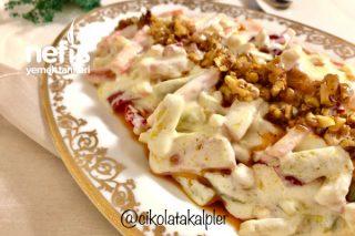 Yoğurtlu Sebze Salatası (Hafif Lezzet) Tarifi