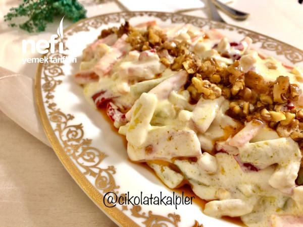 Yoğurtlu Sebze Salatası (Hafif Lezzet)
