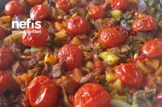 Fırında Kolay Patlıcan Yemeği Tarifi
