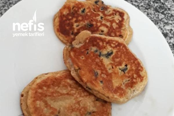 Kara Üzümlü Bebek Pancake (Pankek) Tarifi