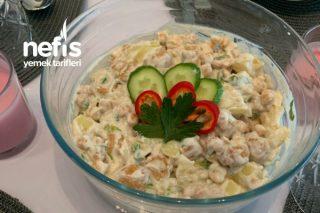 Fellah Köfteli Kumpir Salatası ️ Tarifi