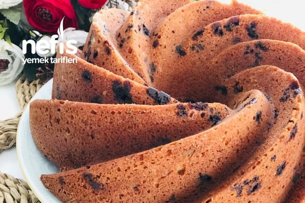 Yoğurtlu Meyveli Çikolatalı Kek Tarifi