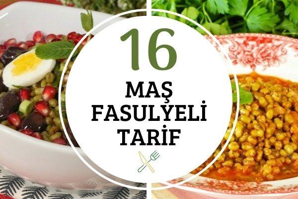 Maş Fasulyesi ile Lif Deposu 16 Nefis Tarif Tarifi