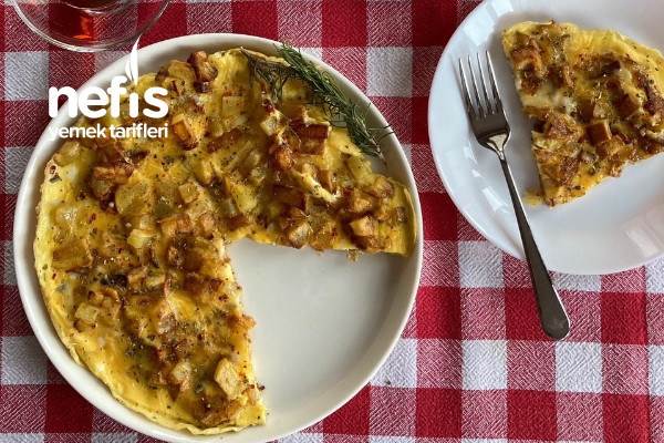 Patatesli Baharatlı Omlet Tarifi