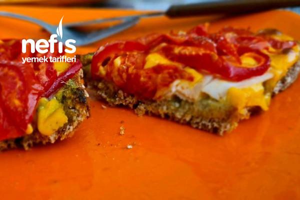 Pesto Soslu Cheddarlı Kahvaltılık Tarifi