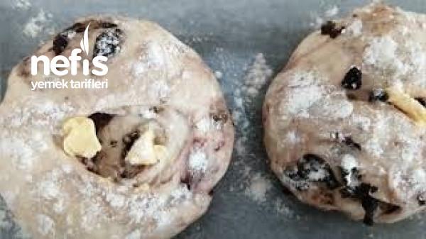 Zeytinli Kekikli Porsiyonluk Ev Ekmeği