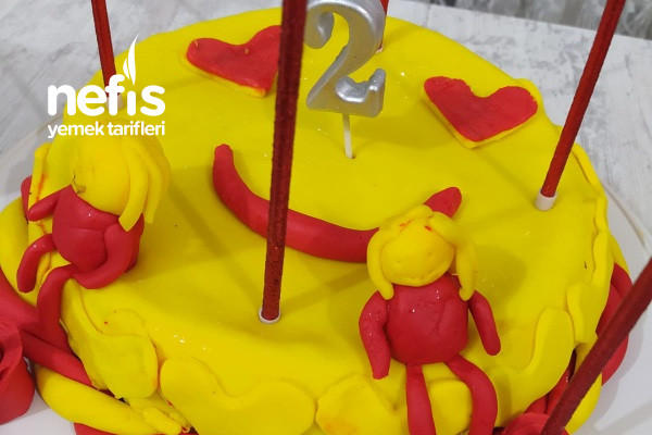 Emojili Doğum Günü Pastam Tarifi