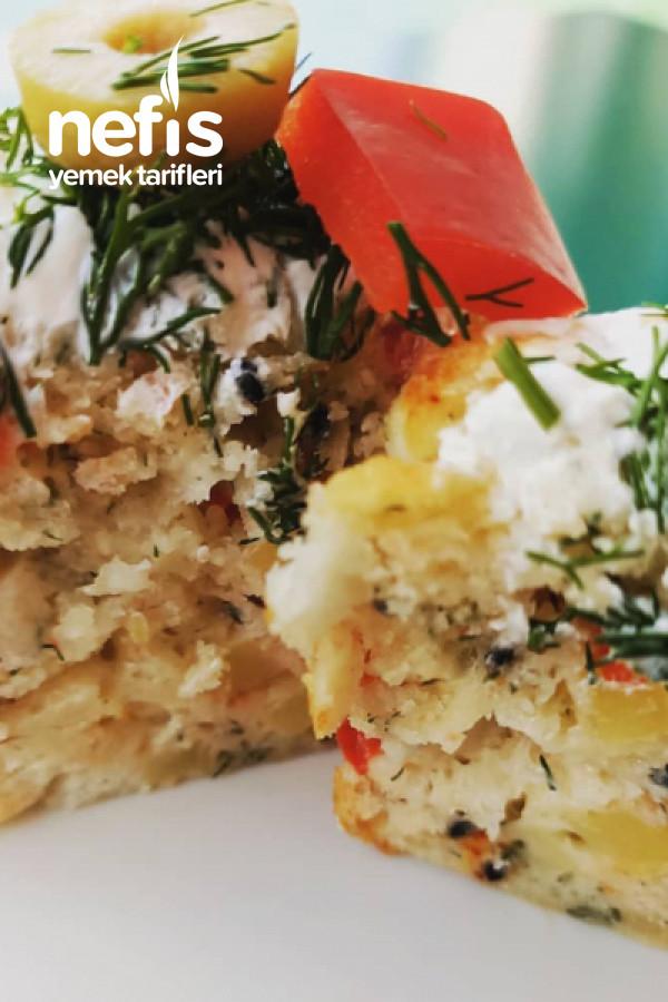 Labne Peynirli Tuzlu Muffin