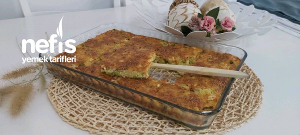 Pırasalı Patatesli Tepsi Çöreği