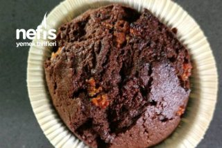 Krokanlı Kakaolu Cupcake Tarifi