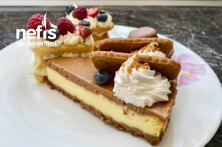 Lotus Cheesecake/ Biscoff Cheesecake Tarifi (Videolu)