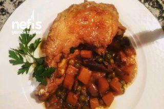 Tavuk Friccaseee (Fransız Mutfağı) Tarifi