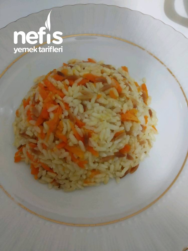Tereyağı Havuçlu Pirinç Pilav