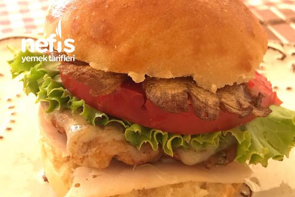 Mücver Burger Tarifi