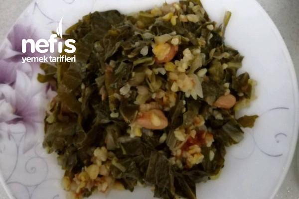 Rize Usulü Kara Lahana Yemeği (Pazılı) Tarifi