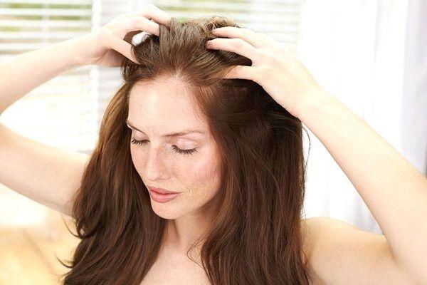 saç masajı