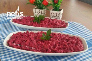 Yoğurtlu Pancar Salatası Tarifi