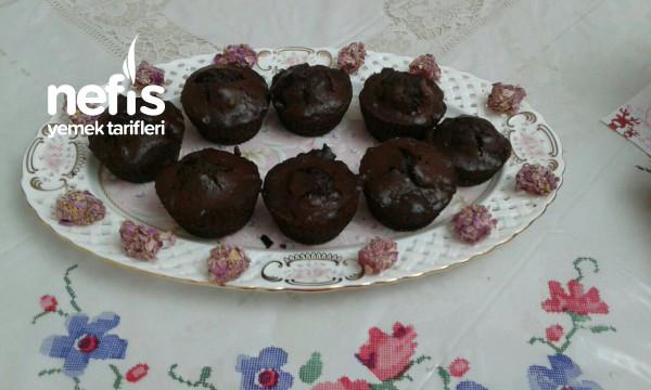 Çikolatalı Beze Diyebiliriz (Çikolatalı Muffin)