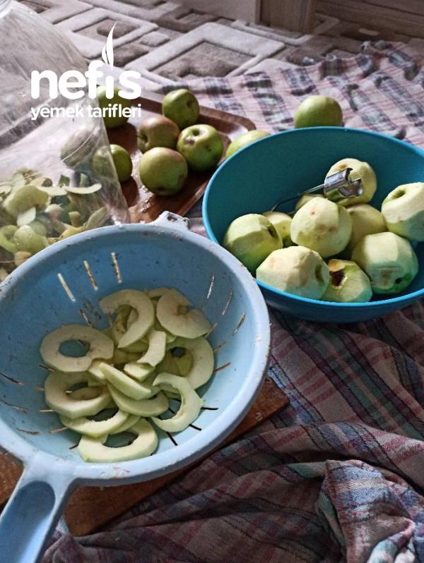 Sağlıklı ,atıştırmalık Elma Kurusu,,tarçınlı
