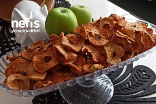 Sağlıklı Atıştırmalık Elma Kurusu Tarçınlı Tarifi
