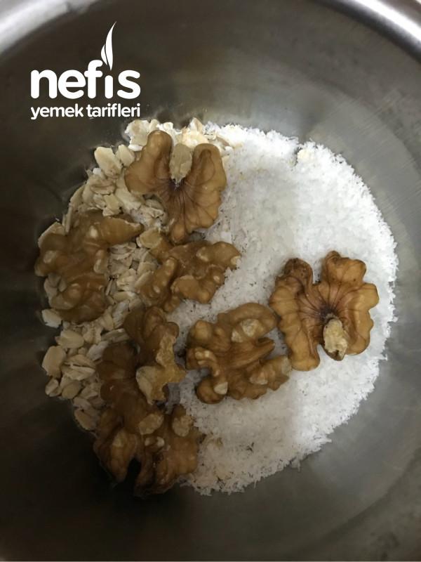 Kalorisi Düşük Sağlıklı Pişmeyen Burçak Bisküvi