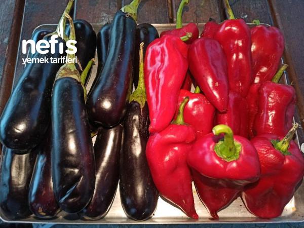 Kırmızı Biber Ve Patlıcan Sosu ️