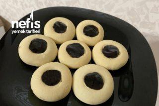 Pratik Ve Lezzetli Pastane Kurabiyesi (Üzeri Dolgulu) Tarifi