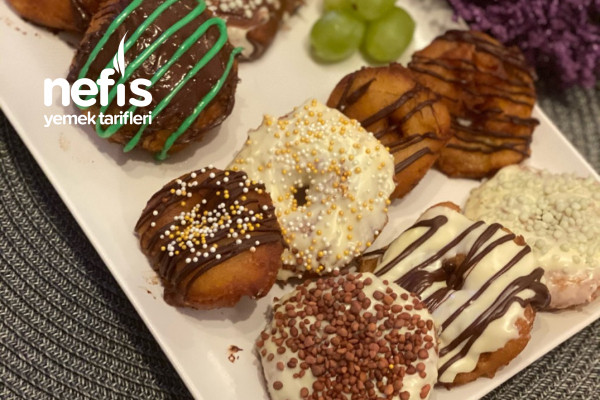 Meyveli Donut (Böyle Lezzet Yok) Tarifi