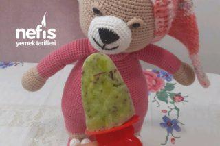 Sadece Meyve Şekeriyle  Dondurma (Çocuklarımıza Gönül Rahatlığıyla Yedirebiliriz) Tarifi