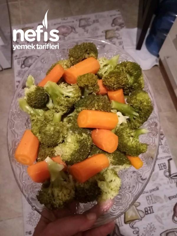 Buharda Sağlıklı Sebze