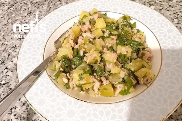 Ekşili Patates Salatası Tarifi