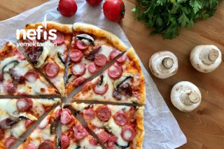 İncecik Pizza Tarifi