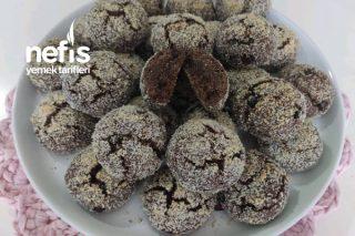 Kakaolu Hindistan Cevizli Kolay Kurabiye (Videolu) Tarifi