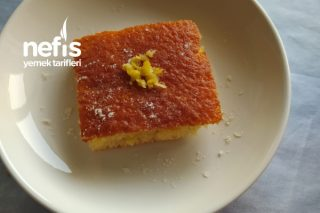Kalabalık Misafirler İçin Tepside Limonlu Kek Tarifi
