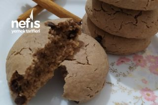 Damla Çikolatalı Cevizli Kurabiye (Sıvı Yağlı-Mükemmel) Tarifi