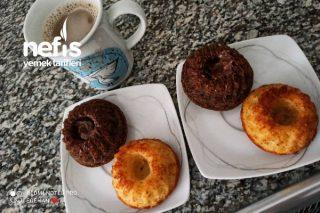 Muffin Kalıplarında İki Çeşit Kek Tarifi