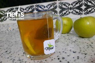 Yeşil Elmalı Yeşil Çay Tarifi