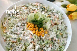 Göbek Marul Salatası Tarifi