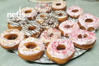 Hiç Yağ Çekmeyen Donut Tarifi