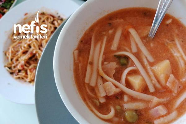 İtalyan Çorbası Minestrone Tarifi