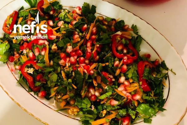 Kereviz Yaprağı Salatası Tarifi