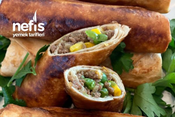 Kıymalı Tortilla /Lavaş Ekmek Böreği Tarifi