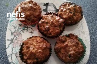 Kuru Meyveli, Yulaflı Fit Muffin Tarifi