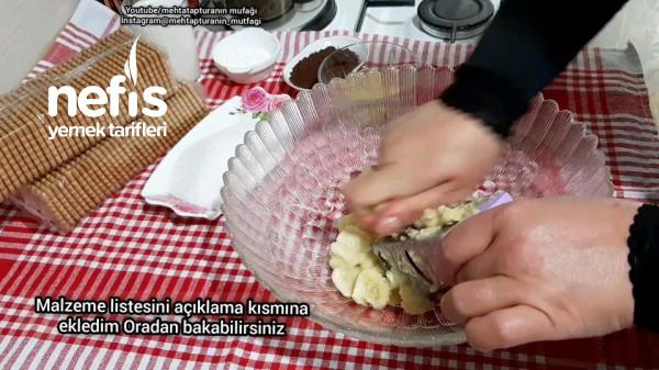 Muzlu Bisküvili Yalancı Profiterol