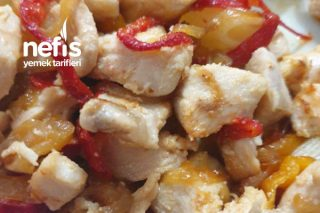 Tavuk Sote (Karamelize Soğan Ve Biber İle) Tarifi
