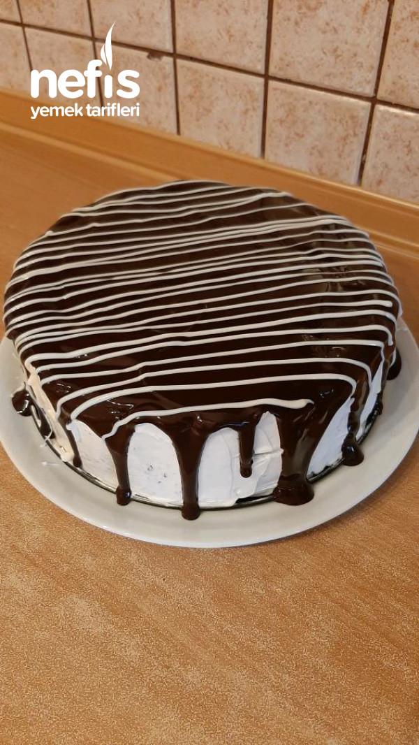 Bisküvili Yaş Pasta  yok Böyle Pratik Lezzet Görüntü Tat Muhteşem