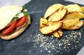 Fırında Yoğurt Soslu Patates Tarifi