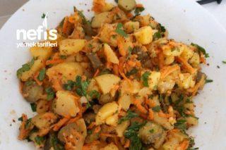 Kornişon Turşulu Patates Salatası Tarifi