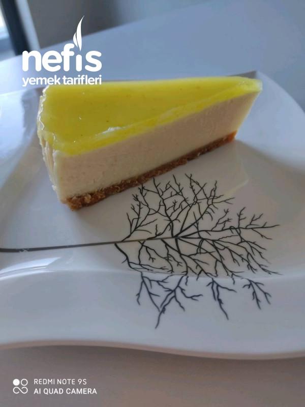 Orijinali Aratmayan Limonlu Cheesecake