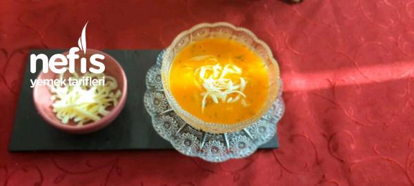 Sebze Çorbası Tam Kıvamında